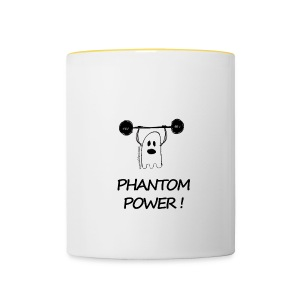 Phantom Power (Mug) - Tasse bicolore