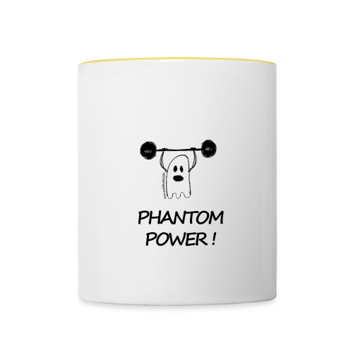 Phantom Power (Mug) - Mug contrasté
