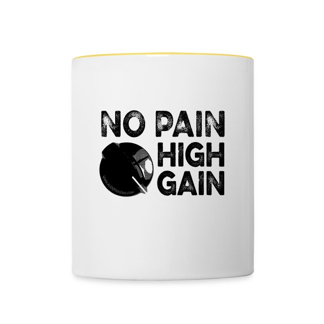 no pain, high gain! (Mug)