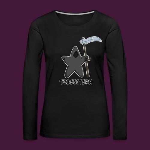 Todesstern - Frauen Premium Langarmshirt