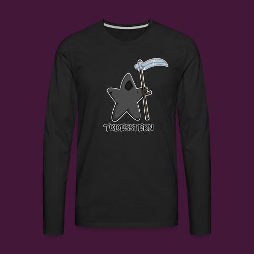 Todesstern - Männer Premium Langarmshirt
