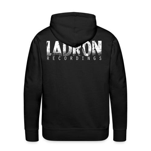 Ladron hoody black - Premiumluvtröja herr