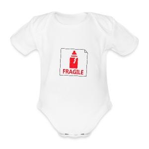 Fragile - Body bébé bio manches courtes