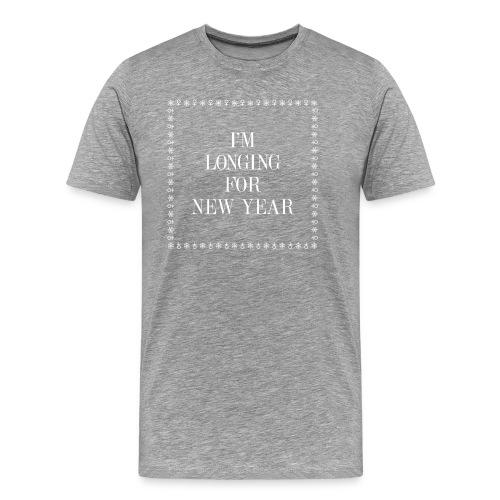 The anti holiday t-shirt - Premium-T-shirt herr