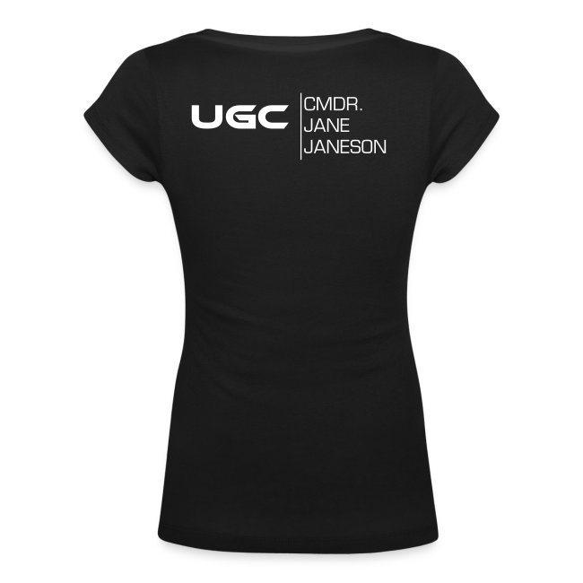 UGC Planet Logo mit Backprint