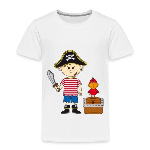 Kinder t-shirt Piraat - Kinderen Premium T-shirt