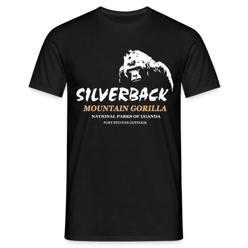 Gorilla - Silverback - Männer T-Shirt