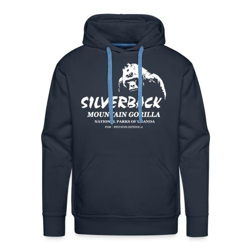 Gorilla - Silverback - Männer Premium Hoodie