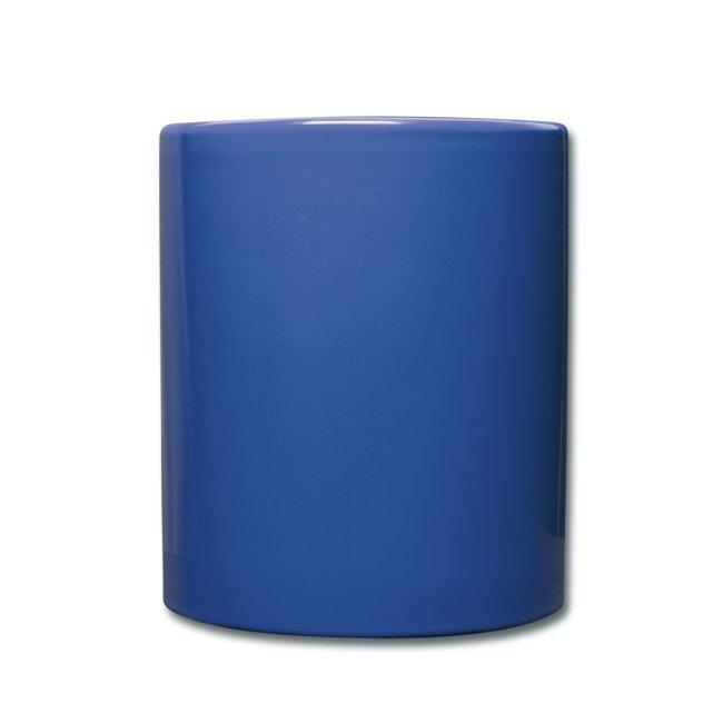 UGC Tasse farbig, Planet-Logo
