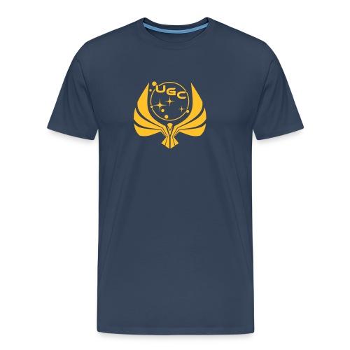 UGC Logo OHNE Backprint - Männer Premium T-Shirt