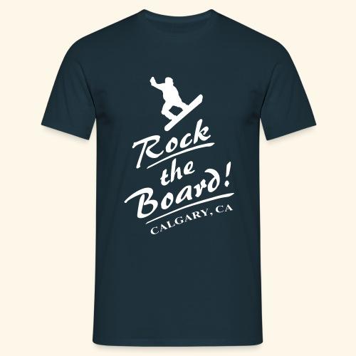 Rock The Board - Männer T-Shirt