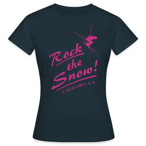 Rock The Snow - Frauen T-Shirt
