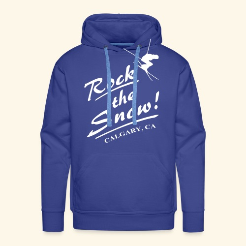Rock The Snow - Männer Premium Hoodie
