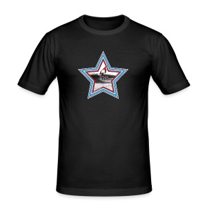 Windsurf Star - Männer Slim Fit T-Shirt