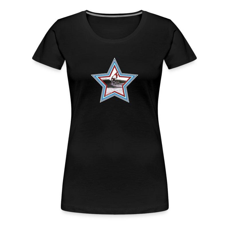 Windsurf Star - Frauen Premium T-Shirt