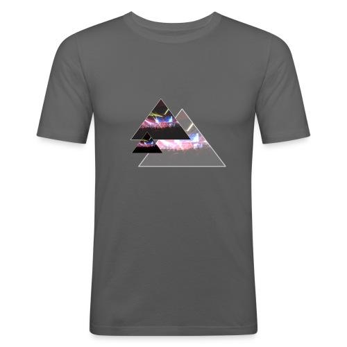 TriRock - Männer Slim Fit T-Shirt