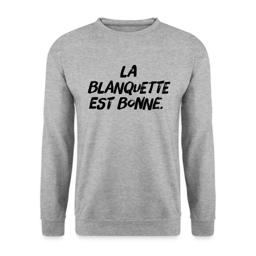SWEATSHIRT BLANQUETTE - Sweat-shirt Homme