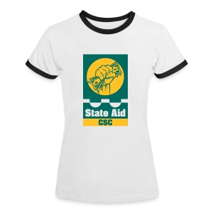 State Aid CSC - Women's Ringer T-Shirt