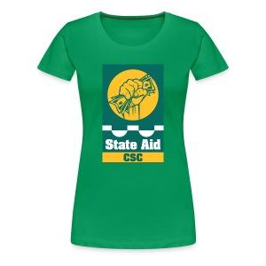 State Aid CSC - Women's Premium T-Shirt