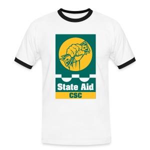 State Aid CSC - Men's Ringer Shirt