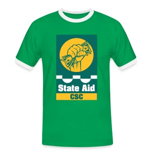 State Aid CSC - Men's Ringer Shirt