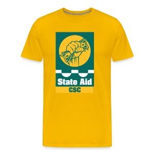 State Aid CSC - Men's Premium T-Shirt