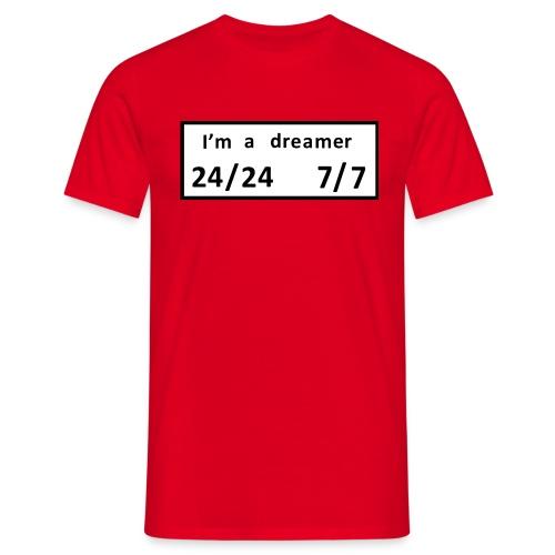 dreamer - Mannen T-shirt