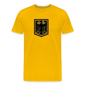Hoyzertisha med Gamemblemet - Premium-T-shirt herr