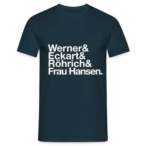 Werner & Eckart Shirt navi - Männer T-Shirt