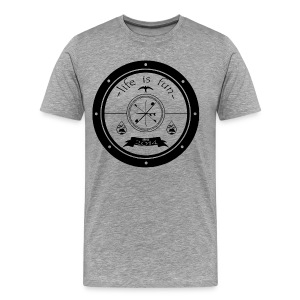 Life is fun - Mannen Premium T-shirt