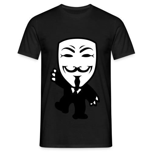 Anonymous - Maglietta da uomo