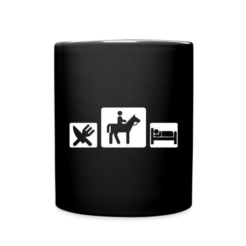 Eat, Horses and sleep - Mug uni