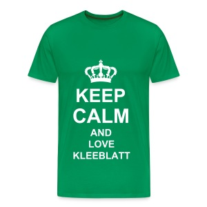 Keep Calm Shirt Herren - Männer Premium T-Shirt
