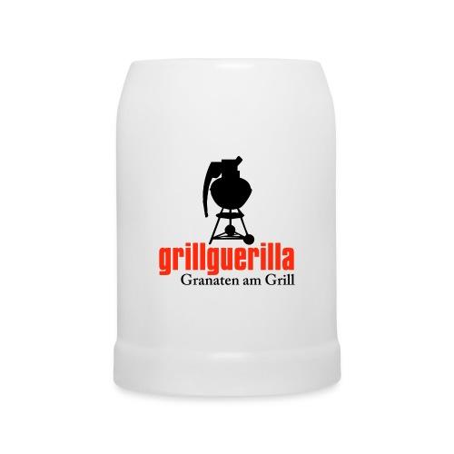 Bierkrug GRENADE mit Logo Front - Bierkrug