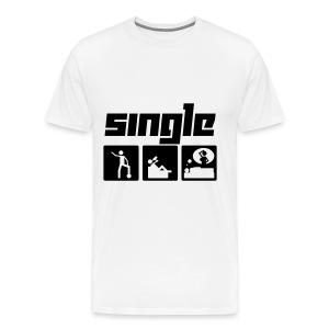 Single T-Shirt - Männer Premium T-Shirt