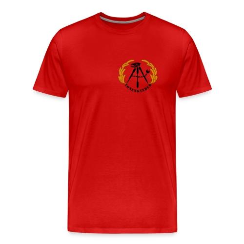 Logo Shirt Männer, rot - Männer Premium T-Shirt