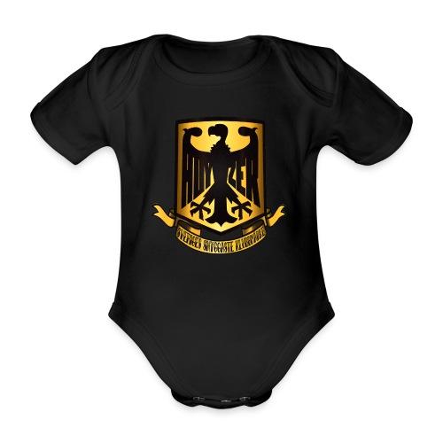 Sveriges snyggaste klubbmärke babybody - Ekologisk kortärmad babybody
