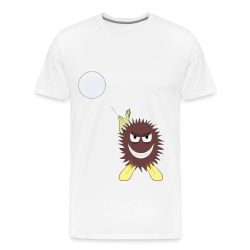 Monster vs Bubble - Männer Premium T-Shirt