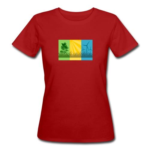 Renewables Rot Damen 2 - Frauen Bio-T-Shirt