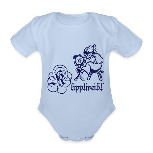 klipplweibl_v4 - Baby Bio-Kurzarm-Body
