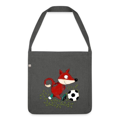 Schultertasche Fußballfuchs - Schultertasche aus Recycling-Material