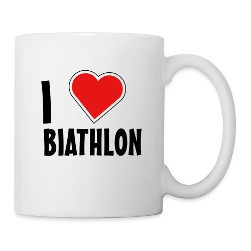 I Love Biathlon Tasse - Tasse