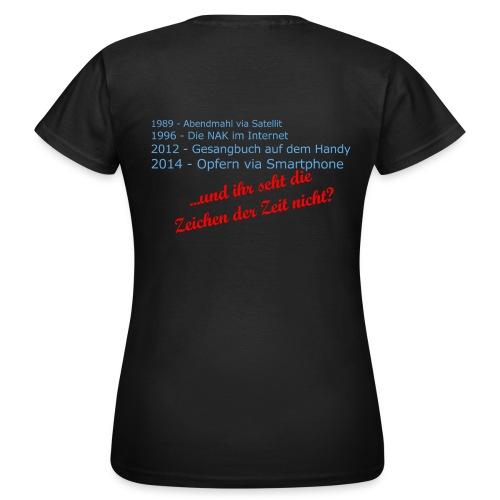 Zeichen-der-Zeit-Shirt - Frauen T-Shirt