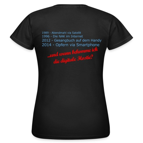 Digitale-Hostie-Shirt - Frauen T-Shirt