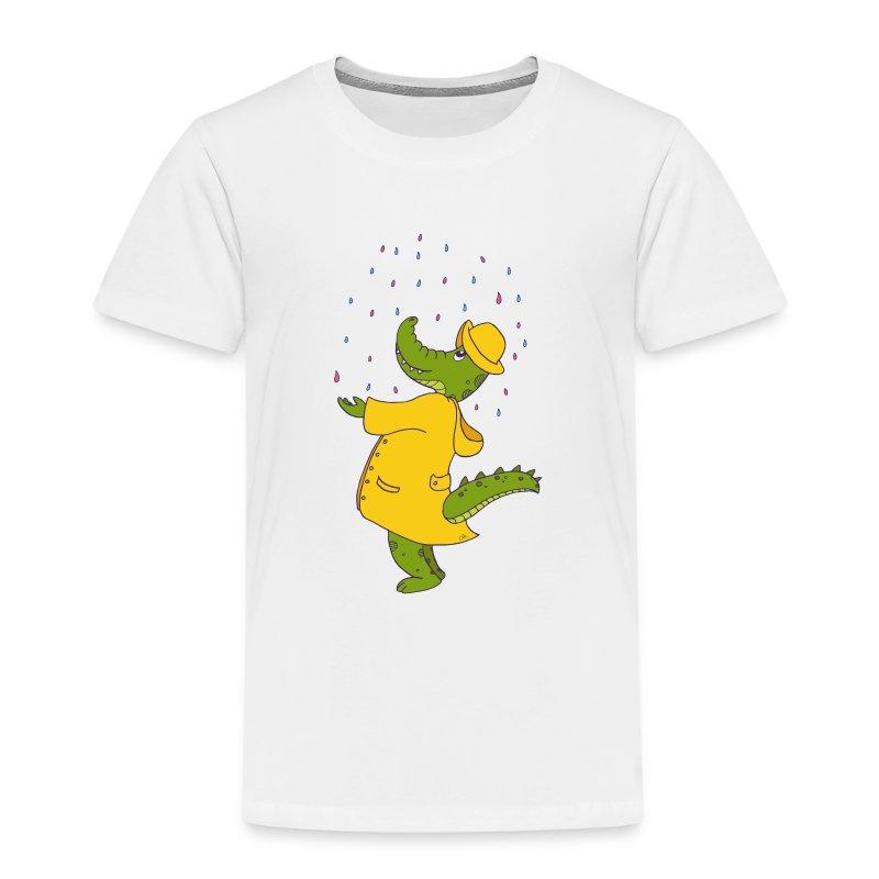 crocodile sous la pluie - T-shirt Premium Enfant