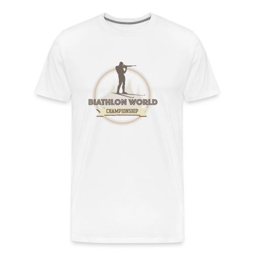 Biathlon Shirt Lifestyle - Männer Premium T-Shirt