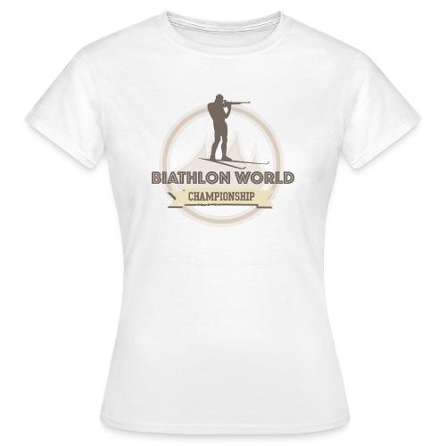 Biathlon Shirt Lifestyle - Frauen T-Shirt