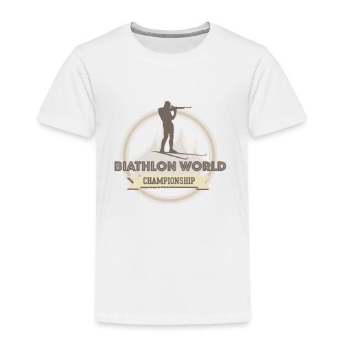 Biathlon Shirt Lifestyle - Kinder Premium T-Shirt