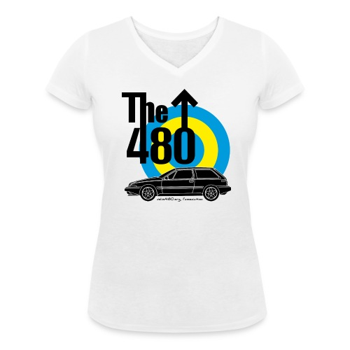 T-shirt femme col V - The 480 - T-shirt bio col V Stanley & Stella Femme