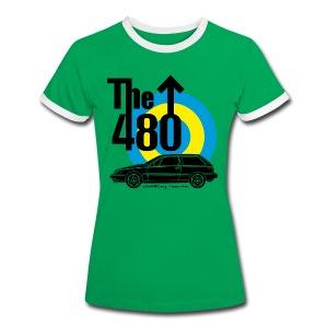 T-shirt vintage femme - The 480 - T-shirt contrasté Femme